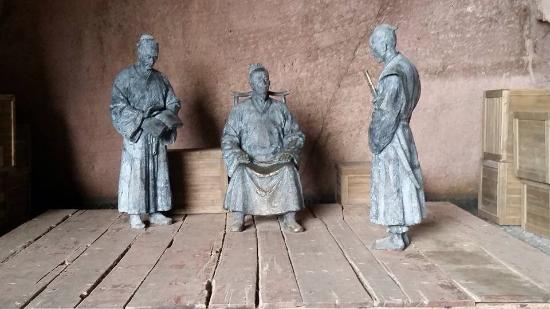 Sanmen County, Cina: Sculptures