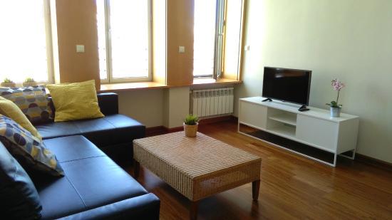 Apartamentos Avila: Salón