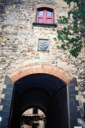 Montespertoli, Italia: Cortille - Guicciardini family coat of arms