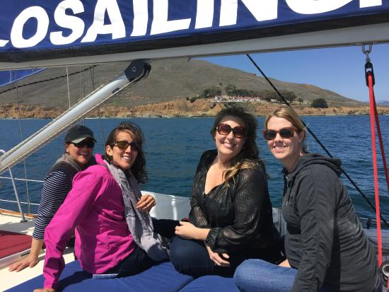 Central Coast Sailing Charters: A fun time on a private sail