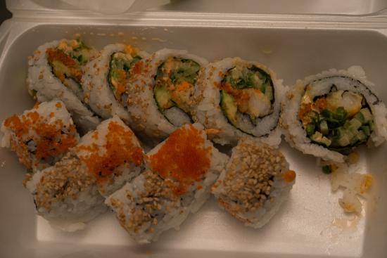 Toshi Sushi: Dynamite Roll.