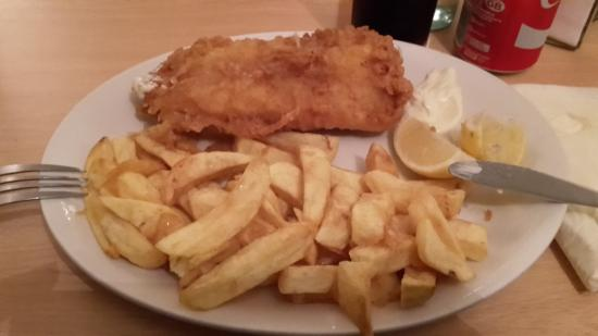 Long Stratton, UK: Fish & Chips