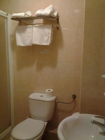 Pension Terminal: douche propre