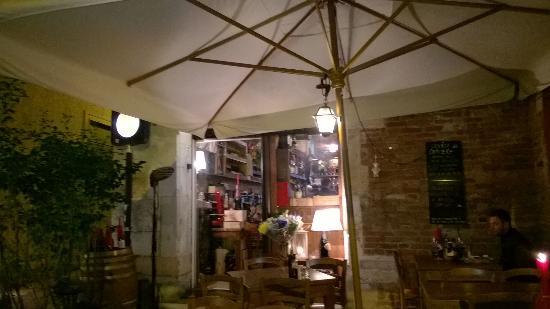 Ristorante Osteria Dal Cavaliere: Вход в ресторан