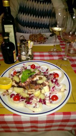 Ristorante Osteria Dal Cavaliere: Салат из осьминогов