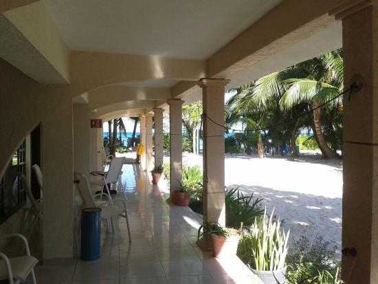 Cabanas Maria Del Mar: Patio