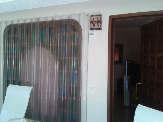 Cabanas Maria Del Mar: Entrada a la habitacion