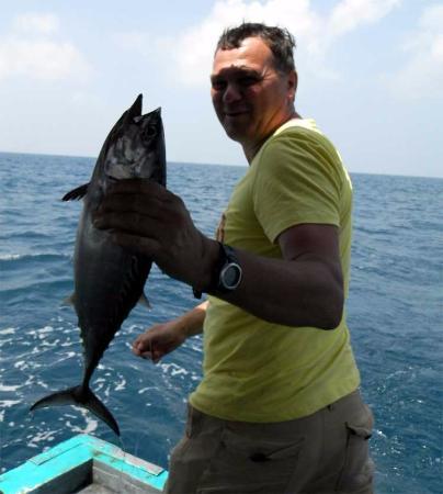 Maakeyolhu Fishing Charters: тунец