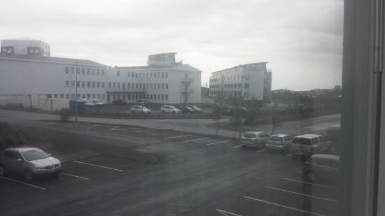 Hotel Smari: wiew from our window