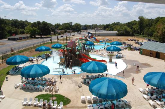 Splash Kingdom Family Waterpark View From The Big Slide Tower