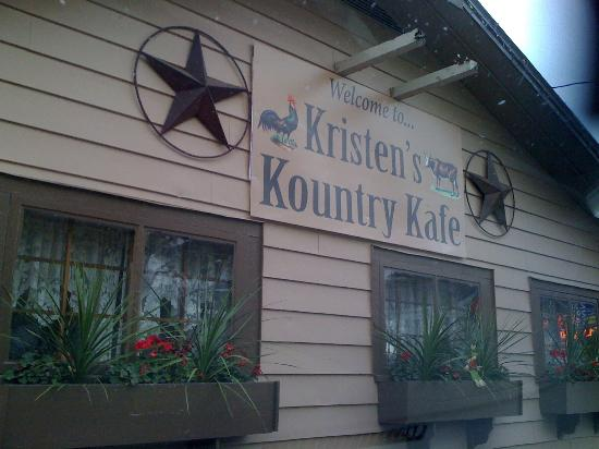 Kristen's Kountry Kafe' Deansboro , New York Rte. 12B right in town