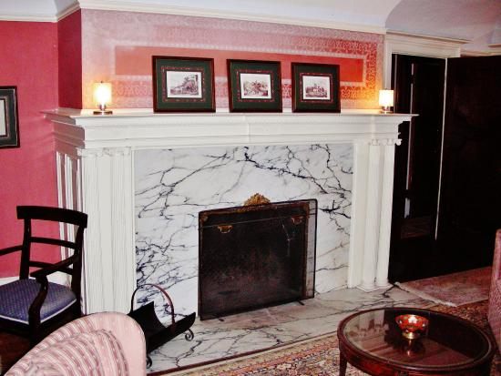Redstone, CO: Master Suite Fireplace
