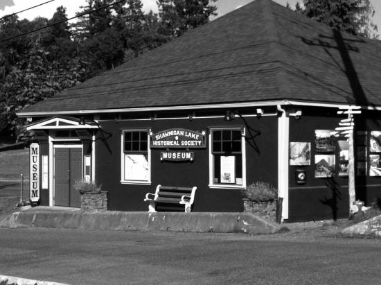 Shawnigan Lake, Kanada: Built in 1950 as a firehall. Converted to a museum in 1983.
