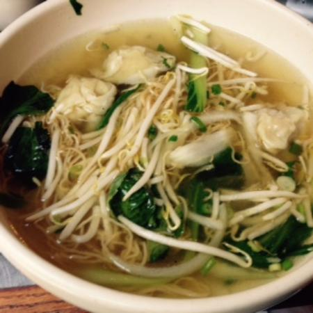 Pho Vietnam: Pho with egg noodles and dumplings