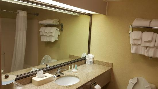 Comfort Suites Winston Salem/ Hanes Mall: Spacious and clean room. I like it.