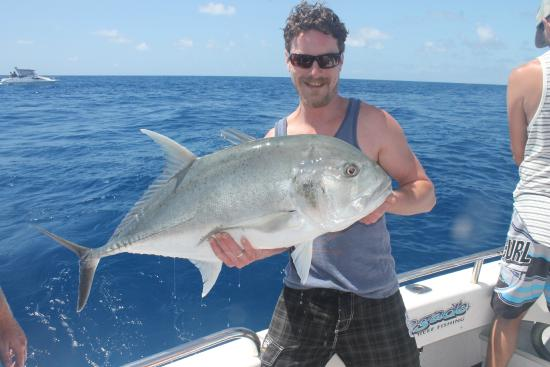 Renegade Fishing Charters: A solid GT - these guys put up a good fight!