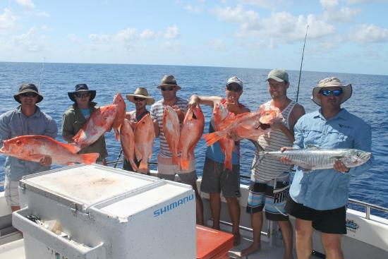 Renegade Fishing Charters: A group of happy guests with their catch!