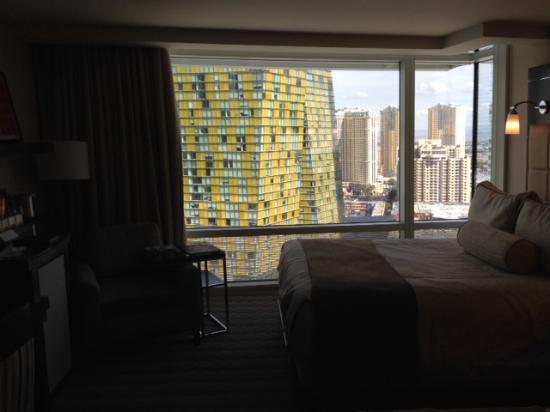 ARIA Resort & Casino: Vista do apartamento