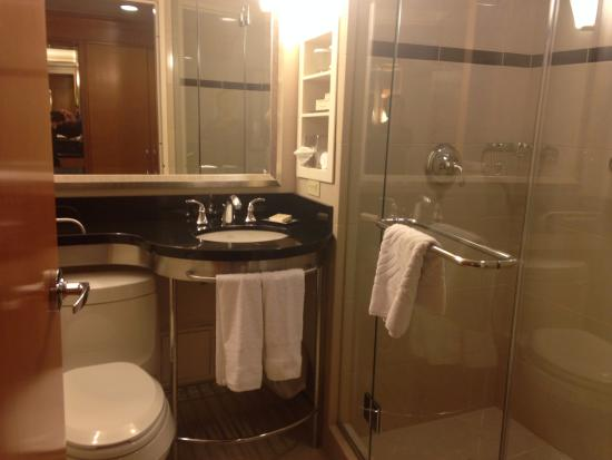 Bathroom picture of new york hilton midtown new york for Bathrooms in nyc