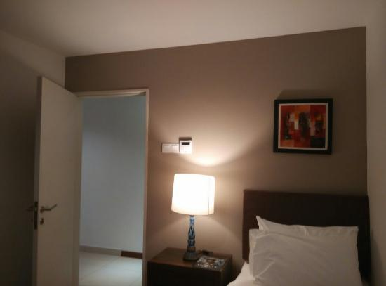 Spacious room and minor problems to be fixed