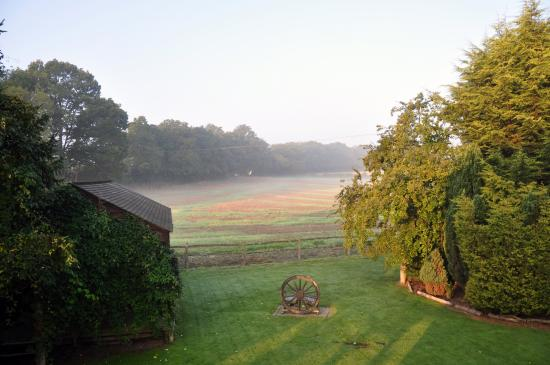 Barclay Farmhouse: View from our room