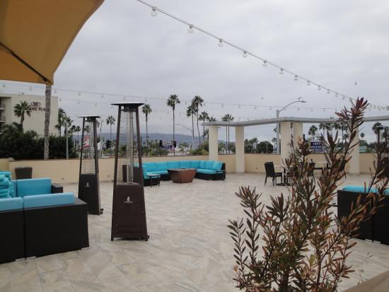 The Redondo Beach Hotel View Of 3rd Floor Observation Deck
