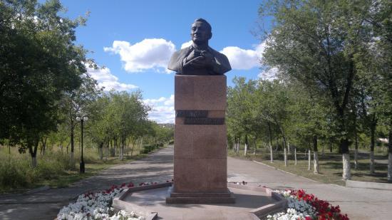 Monument G. Mustafinu