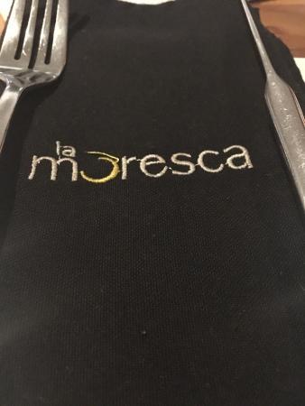 La Moresca: Spaghuetti pomodoro y burrata.