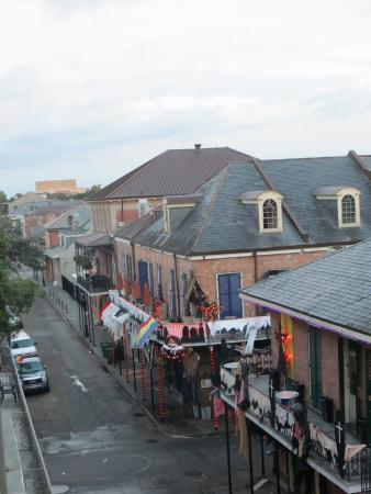 View Of Bourbon Street St Ann Picture Of Bourbon Orleans Hotel