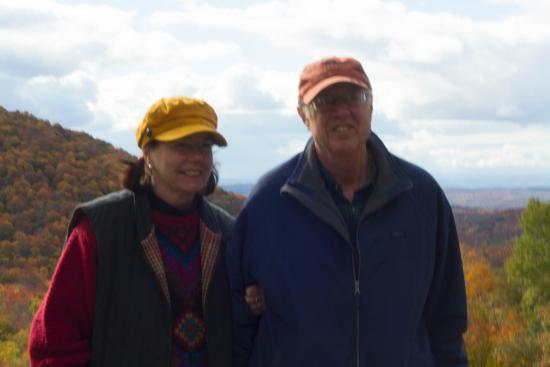 Backroad Discovery Tours : Our tour guides, Sharon and husband.