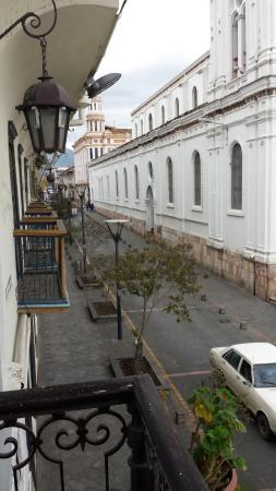 Hostal Colonial: view from my balcony
