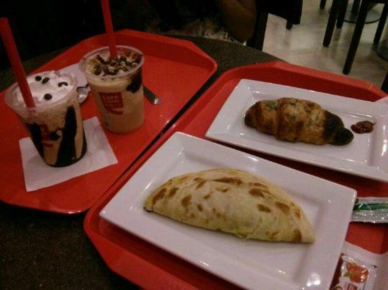 Cafe Coffee Day Food Items