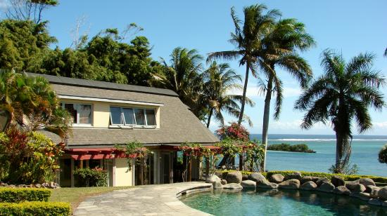Malaqereqere Villas : Villa overlooking the South Pacific