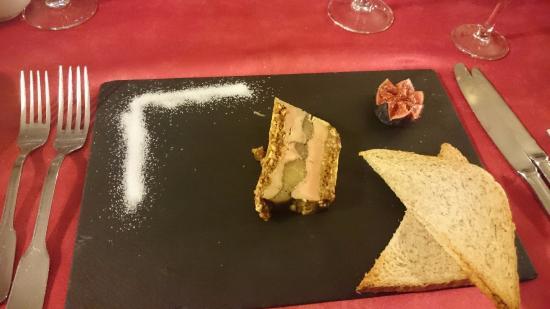 Restaurant La Cloche : fois gras