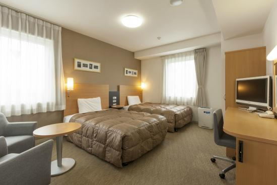 Comfort Hotel Maebashi: Guest room