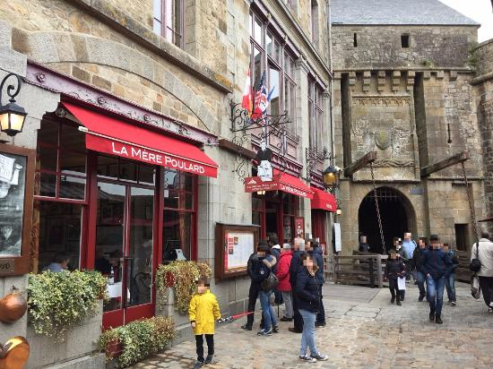 Horrific bill picture of la mere poulard mont saint michel tripadvisor - Restaurant la mere poulard ...