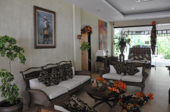 Asuncion, Filipinas: Hotel lobby