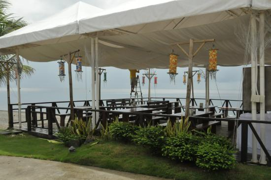 Asuncion, Philippines : Outdoor dining area
