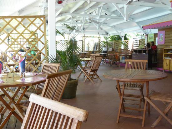 Creola Beach : le restaurant