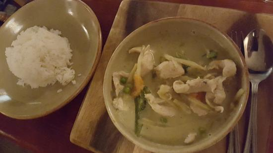 The Three Tuns: Green Curry