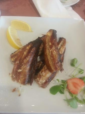 BEST WESTERN Palace Hotel & Casino: Manx kippers cooked to order and delicious
