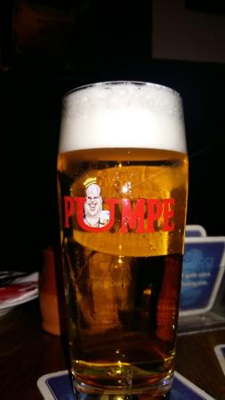Pumpe: A beer is a must! :)