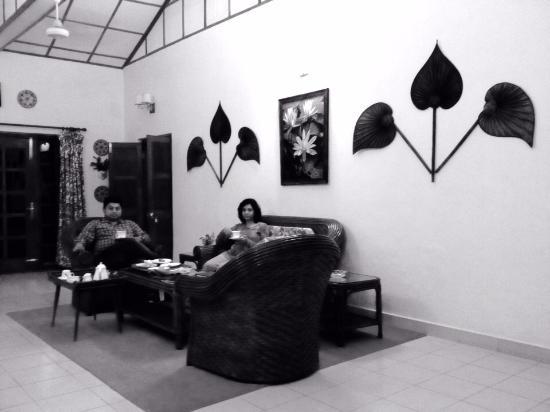 Balipara, Hindistan: Sitting Room