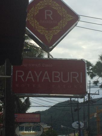 Rayaburi Hotel Patong : hotel