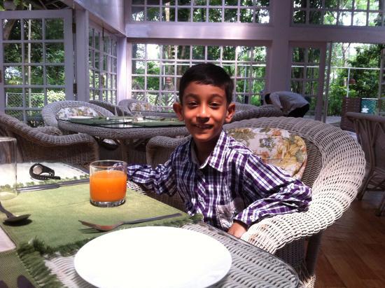 Balipara, Hindistan: Dining Room