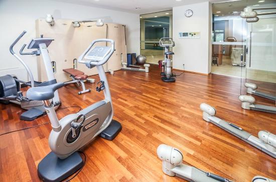 Fitnessraum hotel  klimatisierter Fitnessraum - Bild von Hotel Bredeney, Essen ...