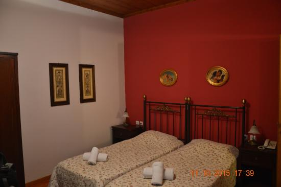 Polyxenia Hotel: The double room