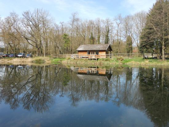 Larkwood Trout Fishery: The lodge at Larkwood