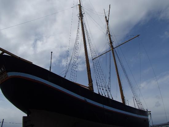 Hakodatemaru: レプリカの船