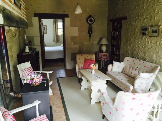 Sambin, Fransa: Lounge Room
